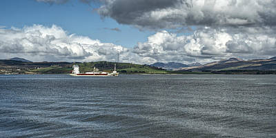 Photograph - The River Clyde At Greenock, Scotland by Jeremy Lavender Photography