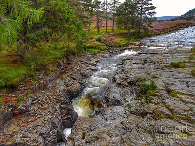 Photograph - The River Dee At Brig O' Dee by Joan-Violet Stretch