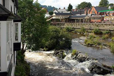 Photograph - The River Dee In Wales by Dianne Levy