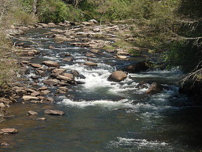 Photograph - The River Flows On by Allen Nice-Webb