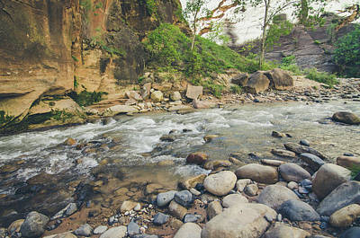 Photograph - The River Hike by Margaret Pitcher