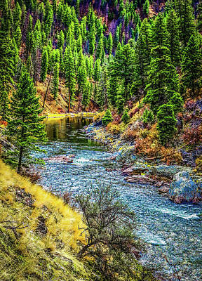 Photograph - The River by Jason Brooks