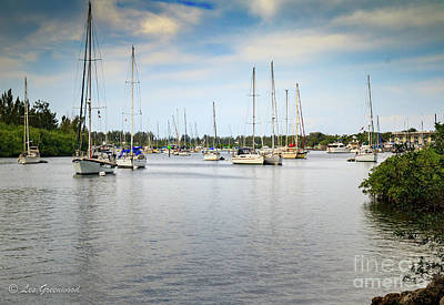 Photograph - The River Marina by Les Greenwood