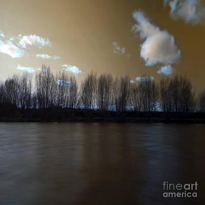 The River Of Dreams Art Print by Angel Ciesniarska