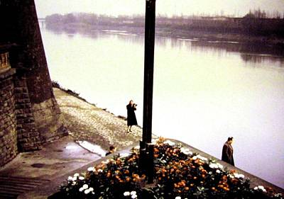 Photograph - The River Seine 1955 by Will Borden