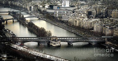 Photograph - The River Seine - Paris by Daliana Pacuraru