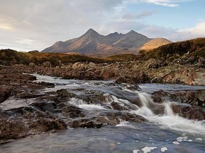 Photograph - The River Sligachan by Stephen Taylor