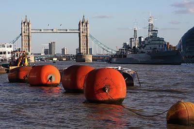 Photograph - The River Thames, London, England by Aidan Moran
