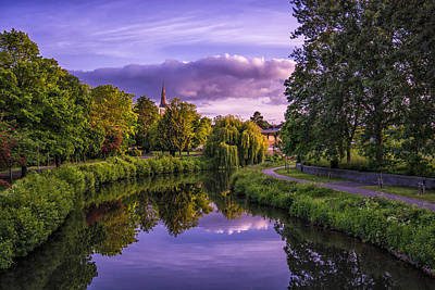 The River Tone Art Print by William Hole
