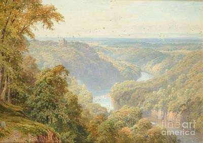 Sutton Painting - The River Ure by MotionAge Designs