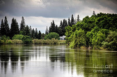 Photograph - The River View by Bob Hislop