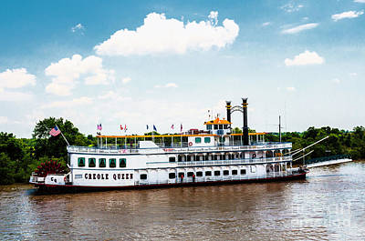 Photograph - The Riverboat Creole Queen by Frances Ann Hattier