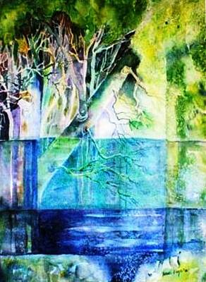 The Rivers Memories  Print by Trudi Doyle
