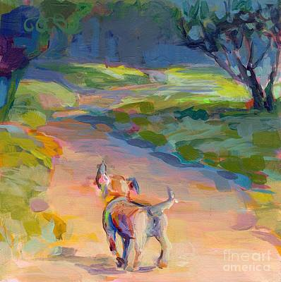 Breed Wall Art - Painting - The Road Ahead by Kimberly Santini
