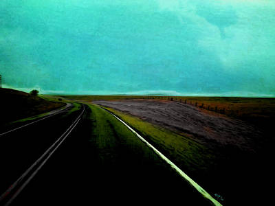 Painting - The Road by Amy Shaw