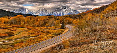 Photograph - The Road By Oxbow by Adam Jewell