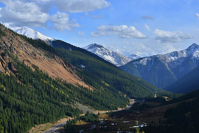 Photograph - The Road Down To Silverton by Ray Mathis