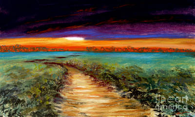 The Road Home Art Print by Addie Hocynec