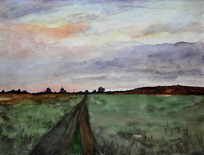 Painting - The Road Home by Donna Blackhall