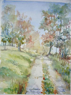 Painting - The Road Home by Dorothy Herron