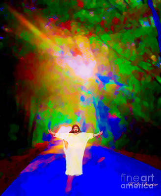 Painting - The Road Home To Jesus by Kimberlee Baxter