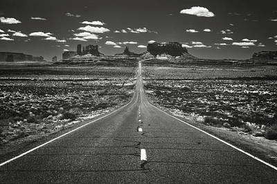 Photograph - The Road Into The West_print 60x40 by Eduard Moldoveanu