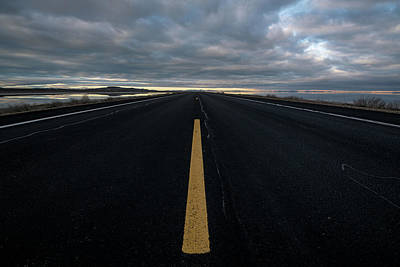 Photograph - The Road by Justin Johnson