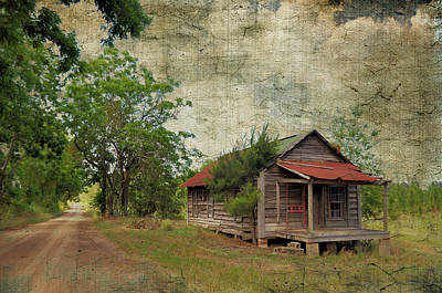 Rural Decay Digital Art - The Road Less Traveled by Jan Amiss Photography