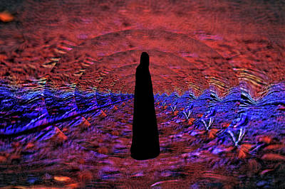 Digital Art - The Road She Walks by Aliceann Carlton