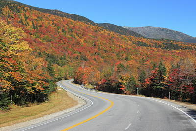 Photograph - The Road Through Pinkham Notch by John Burk
