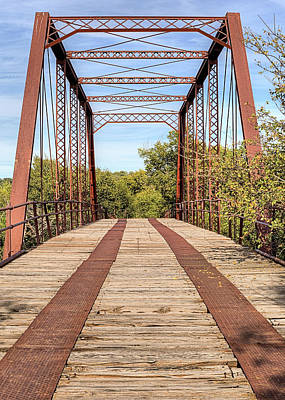 Photograph - The Road To Abilene by JC Findley