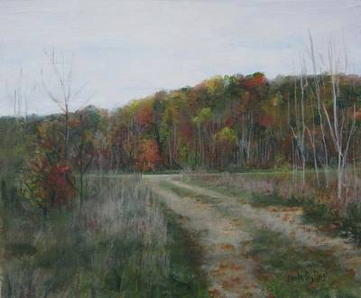 Painting - The Road To Autumn by Paula Pagliughi