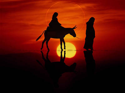 The Road To Bethlehem Art Print