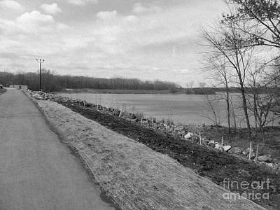 Photograph - The Road To Busse Dam by Kathie Chicoine
