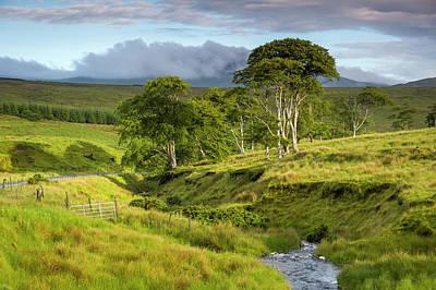 The Road To Carndonagh Art Print by Joe Doherty