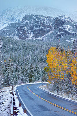 Photograph - The Road To Changing Seasons by John De Bord