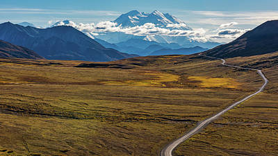 Photograph - The Road To Denali by Brenda Jacobs