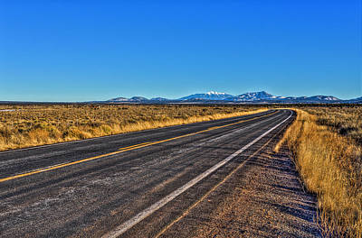 Photograph - The Road To Flagstaff by Harry B Brown