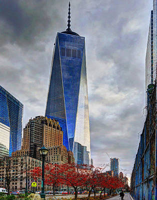 Photograph - The Road To Ground Zero 002 by Jeff Stallard