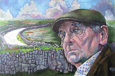 Painting - ' The Road To Kilronan ' by Kevin McKrell