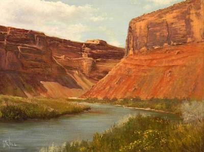 Painting - The Road To Moab by Paul K Hill