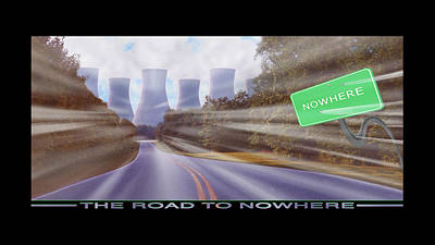 Surrealism Royalty Free Images - The Road To Nowhere Royalty-Free Image by Mike McGlothlen