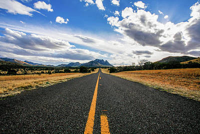 Photograph - The Road To Sawtooth Mountain by Kyle Findley
