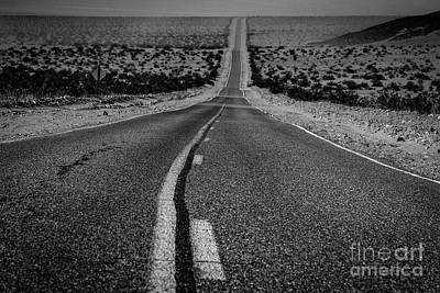 Photograph - The Road To Shoshone by Jeffrey Hubbard