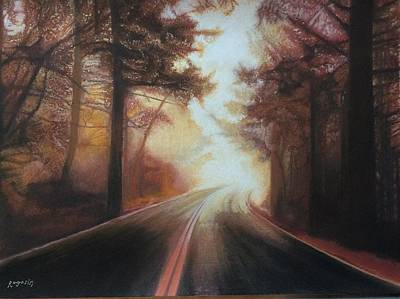 Painting - The Road To Somewhere by Harvey Rogosin