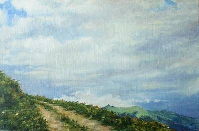 Painting - The Road To The Mountain by Tigran Ghulyan