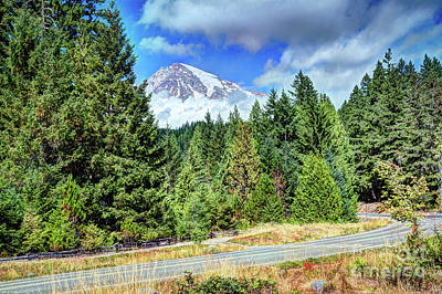 Photograph - The Road To The Summit by Deborah Klubertanz