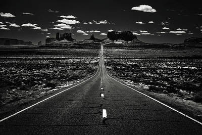 Photograph - The Road To The West by Eduard Moldoveanu