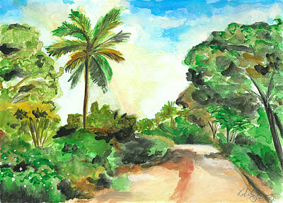 Painting - The Road To Tiwi by Katie Sasser