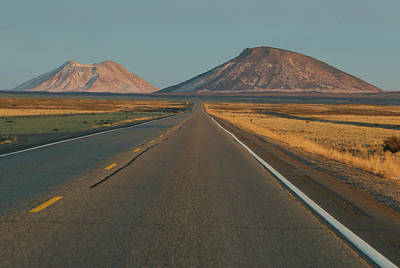 Photograph - The Road To Twin Buttes by Marie Leslie